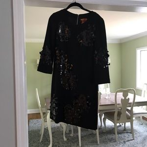 NEW WITH TAGS!  Tory Burch sequin cocktail dress